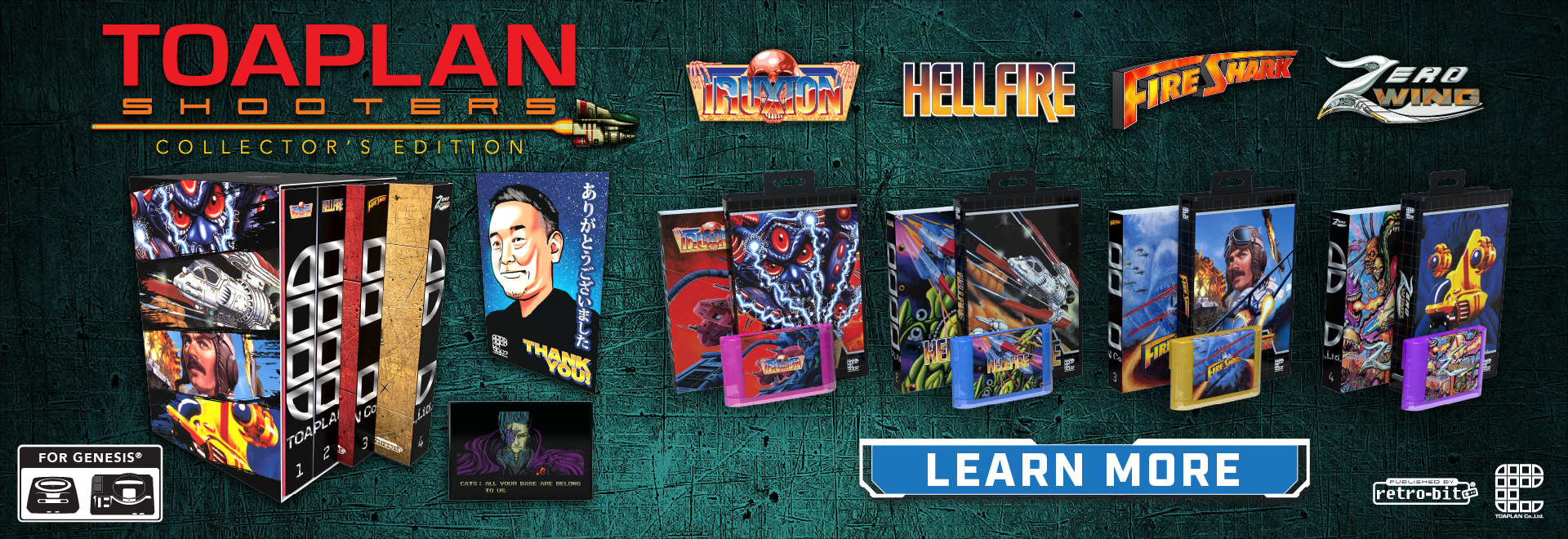 Pre-Order your Toaplan Shooters Collector's Editions!