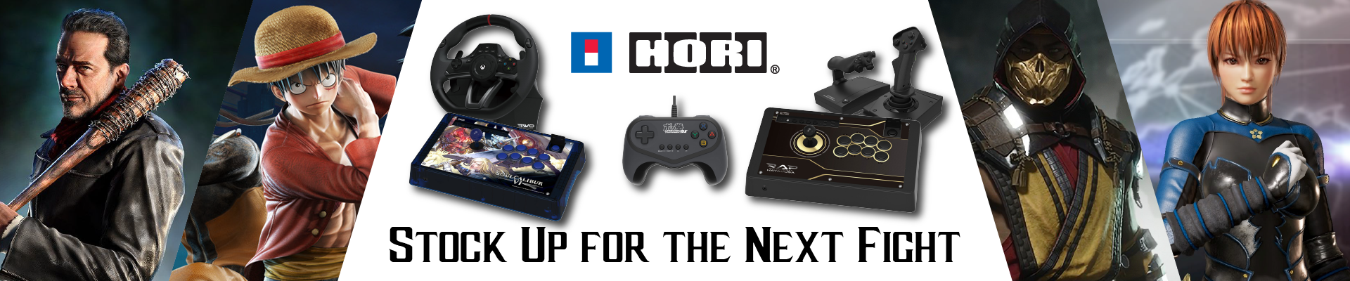 Hori - Stock Up for the Next Fight