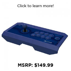 "PS4 - Controller - Fight Stick - Real Arcade Pro. ""Kai"" Blue (Hori)"
