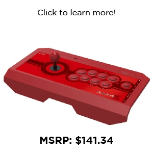 "PS4 - Controller - Fight Stick - Real Arcade Pro. ""Kai"" Red (Hori)"