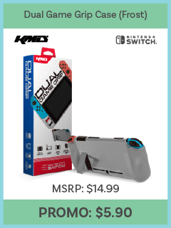 Switch - Dual Game Grip Case (Frost) - (KMD)