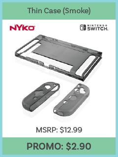 Switch - Case - Thin Case - Smoke (Nyko)