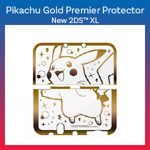 New 2DS XL - Case - Pikachu Gold Premium Protector (Hori)
