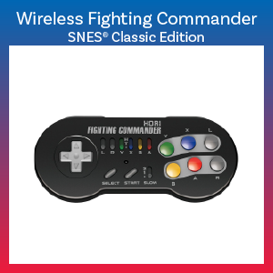 SNES Classic Edition - Controller - Wireless Fighting Commander (Hori)