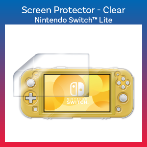 Switch Lite - Case - Screen & System Protector - Clear (Hori)