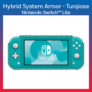 Switch Lite - Case - Hybrid System Armor - Turquoise (Hori)