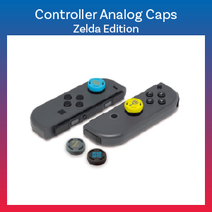 Switch - Grip - Controller Analog Caps - Zelda Edition (Hori)
