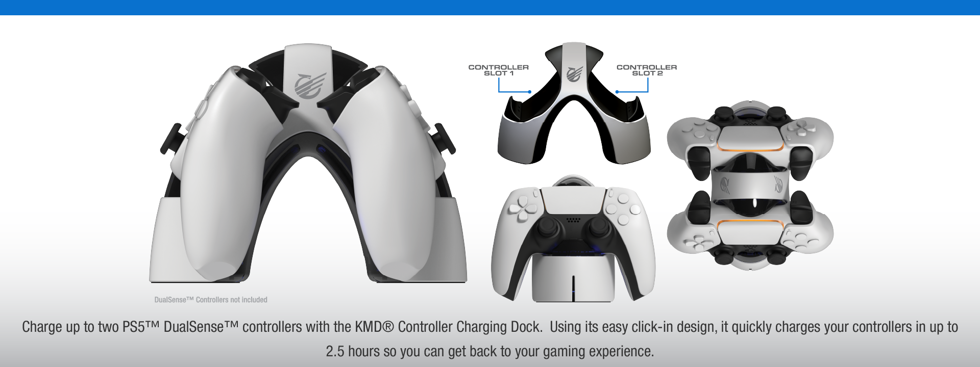 KMD PS5 Charge Dock 2