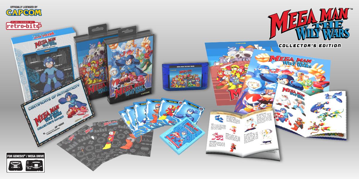 Mega Man: The Wily Wars - CE Spread