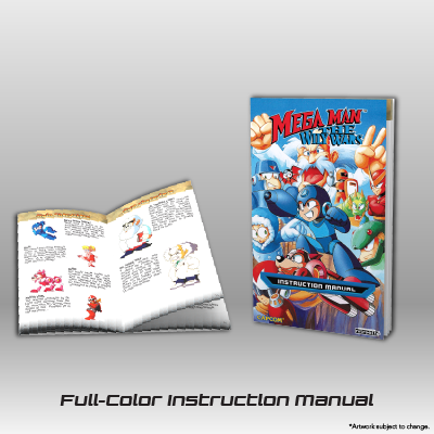 Mega Man: The Wily Wars CE - Full Color Instruction Manual