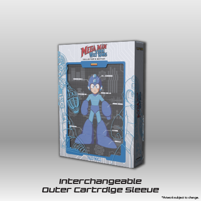 Mega Man: The Wily Wars CE - Outer Cartridge Sleeve