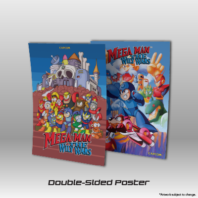 Mega Man: The Wily Wars CE - Double Sided Poster