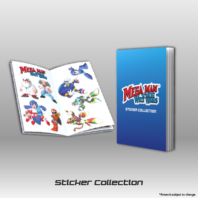 Mega Man: The Wily Wars CE - Sticker Collection