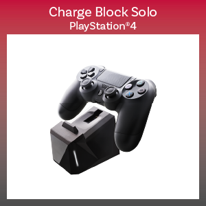 PS4 - Charger - Charge Block Solo - Black (Nyko)