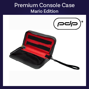 Switch - Case - Premium Console Case - Mario Edition (PDP)