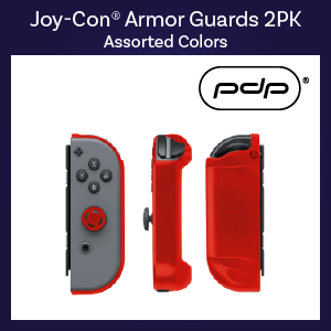Switch - Case -Joy-Con Armor Guards - 2 pk Assorted (PDP)