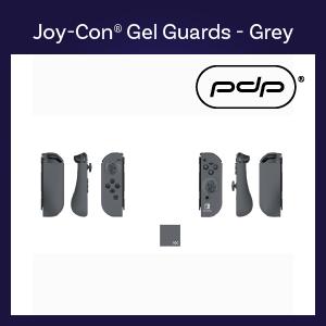 Switch - Case -Joy-Con Gel Guards - Grey (PDP)