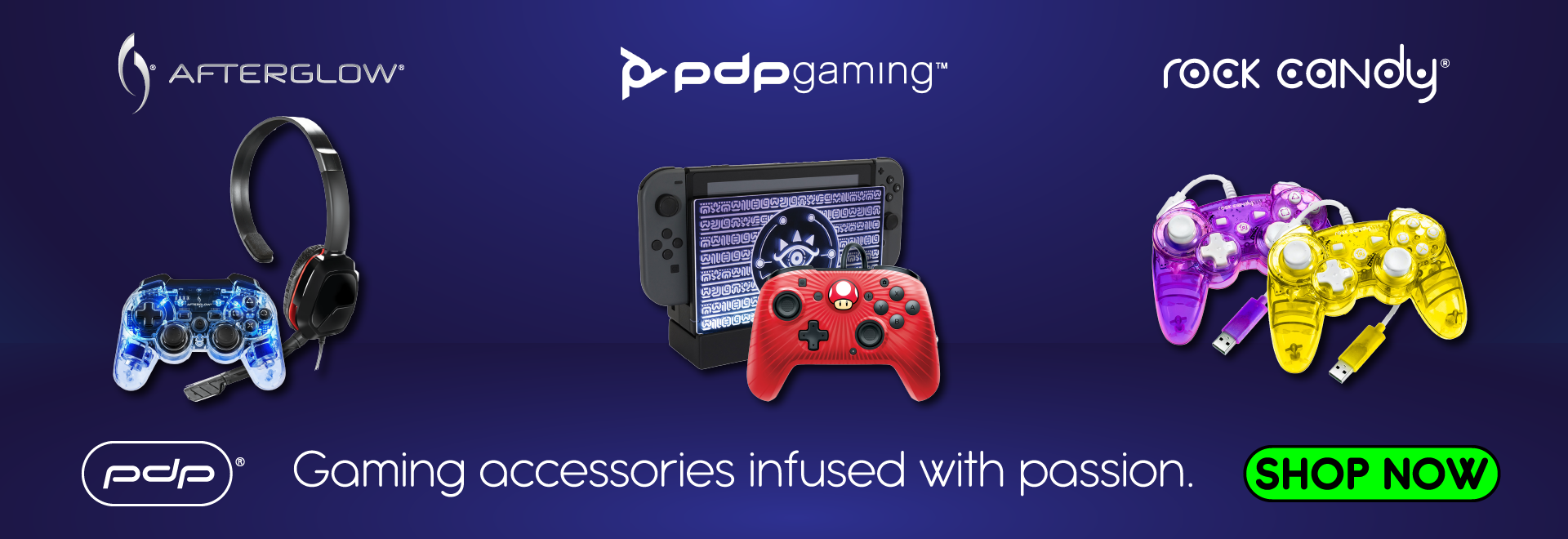 PDP - Gaming Accessories infused with passion