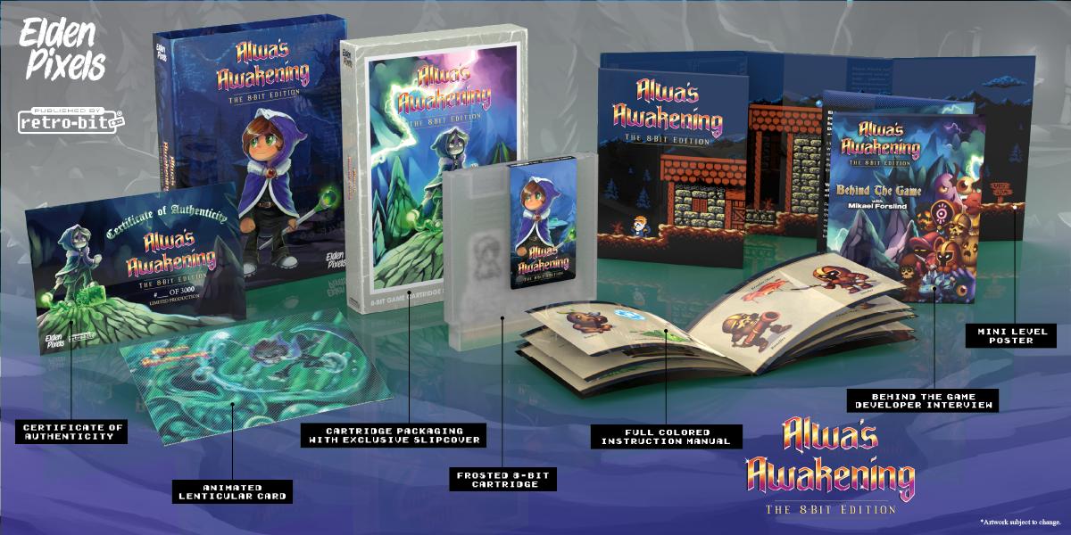 Alwa's Awakening: The 8-Bit Edition - NES Collection
