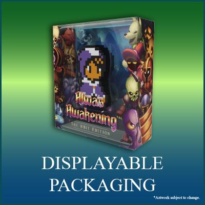 Alwa's Awakening: The 8-Bit Edition Digical - Displayable Packaging