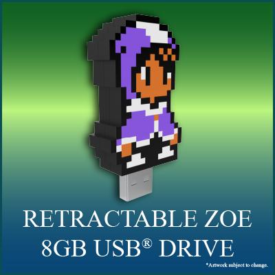 Alwa's Awakening: The 8-Bit Edition Digical - Retractable 8GB Zoe USB