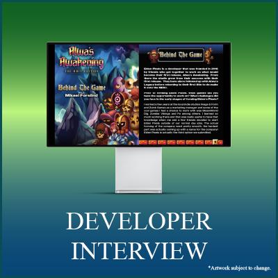 Alwa's Awakening: The 8-Bit Edition Digical - Developer Interview