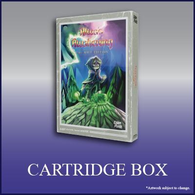 Alwa's Awakening: The 8-Bit Edition - Cartridge Box