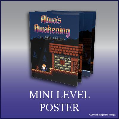 Alwa's Awakening: The 8-Bit Edition - Westwood Poster