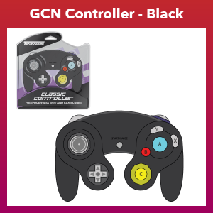 GC Controller - Wired - Black (For Gamecube/Wii U/Wii)