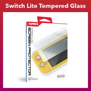Switch Lite - Tempered Glass Screen Protector (KMD)