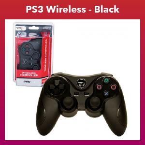 PS3 - Controller - Wireless - 2.4 GHZ Controller - Black (TTX Tech)