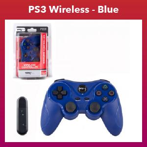 PS3 - Controller - Wireless - 2.4 GHZ Controller - Blue (TTX Tech)