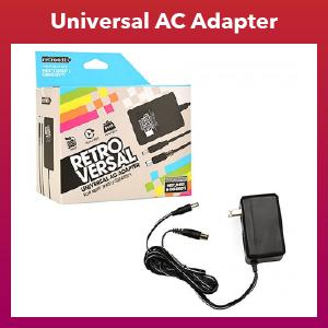 Universal - Adapter - AC Power - NES/SNES/GENESIS Compatible (Retro-Bit)