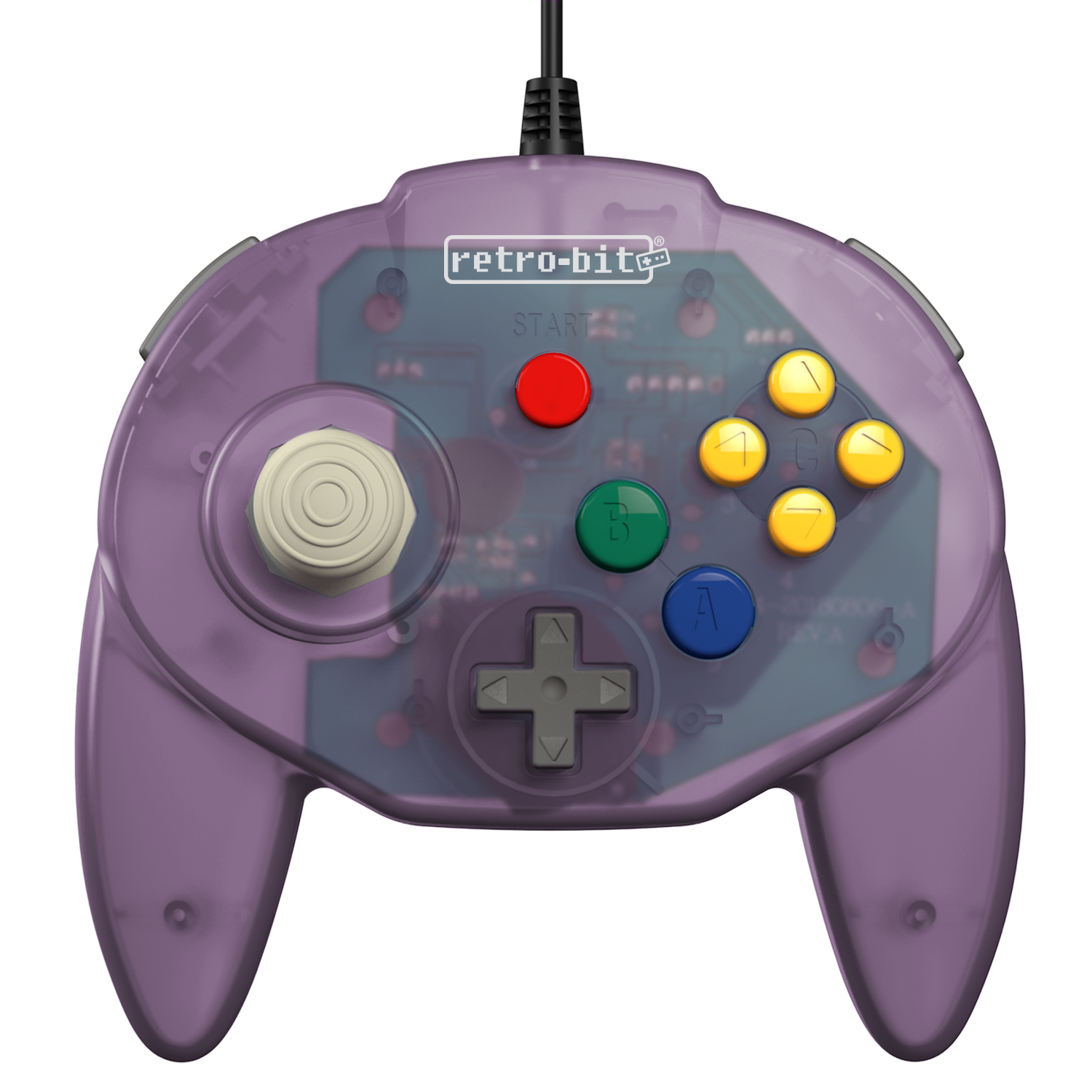 Tribute64 Atomic Purple - N64