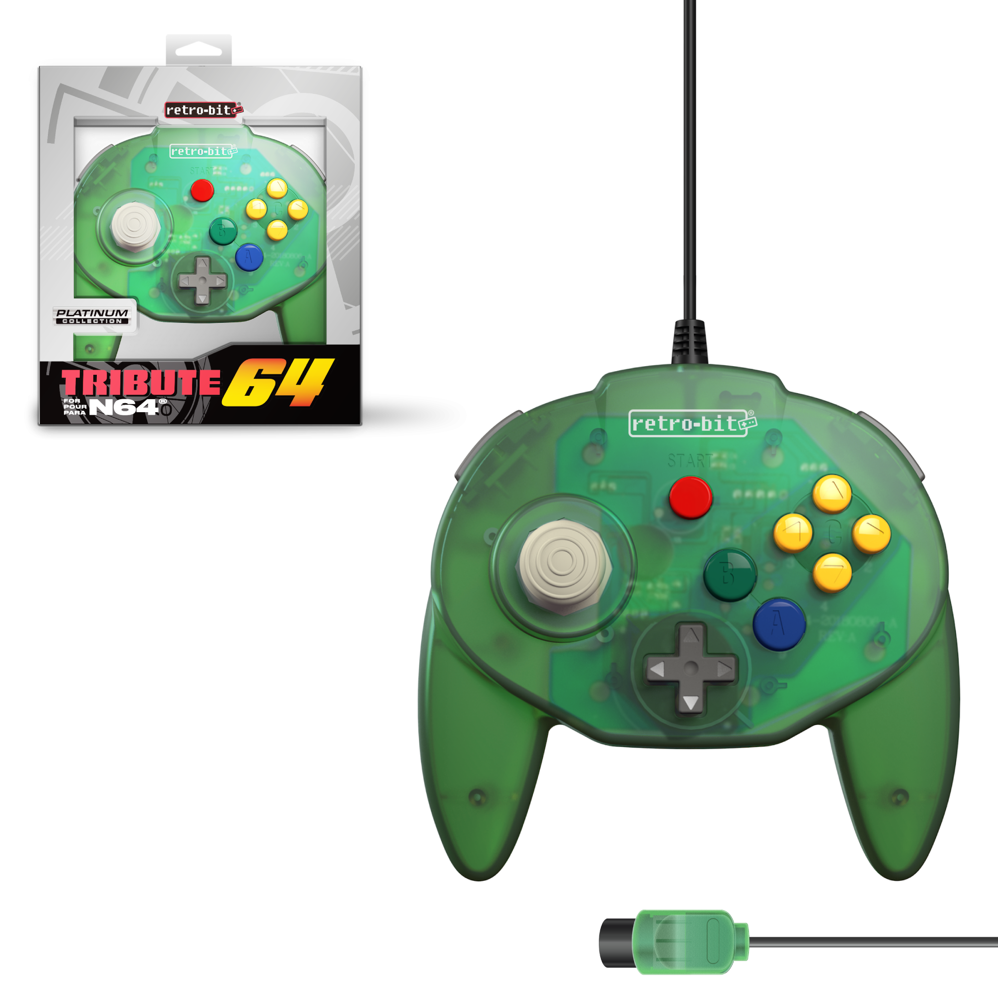 Tribute 64 - Forest Green