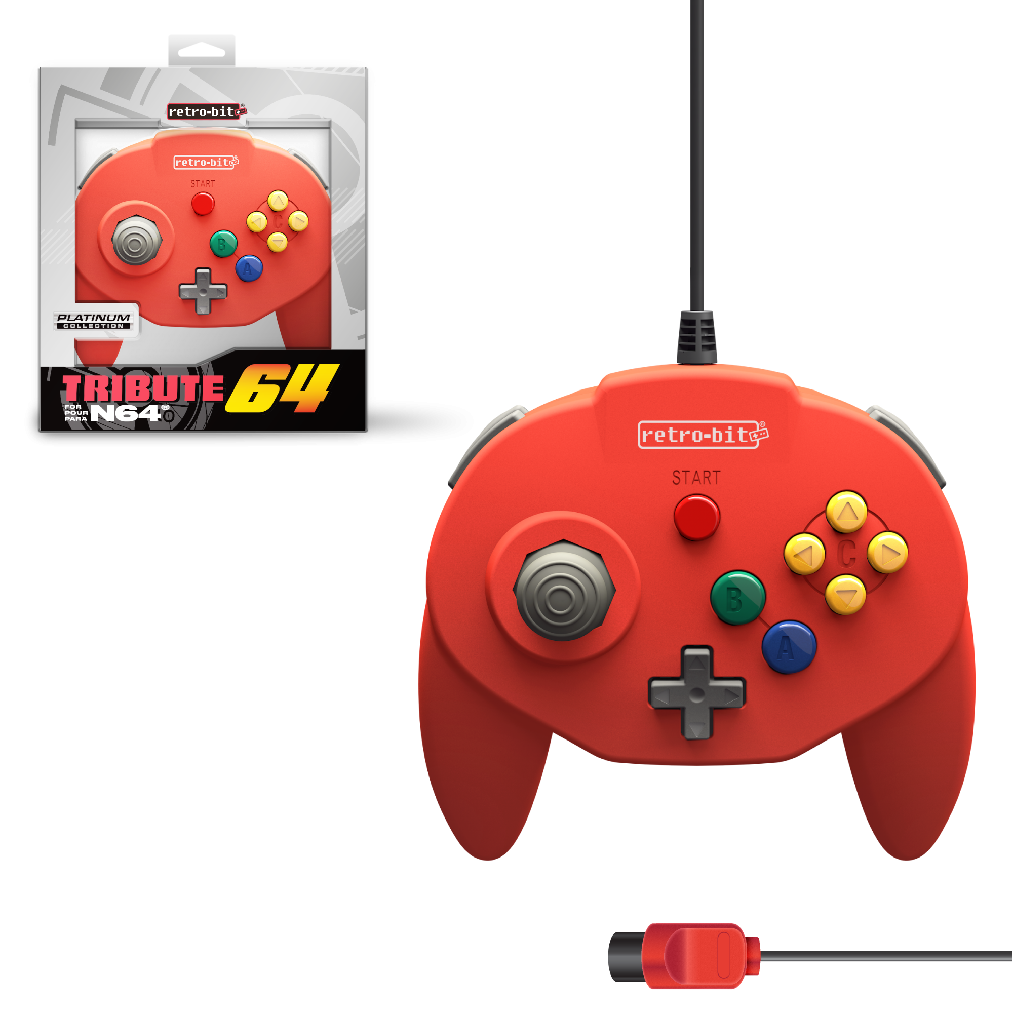 Tribute64 Red - N64 Port