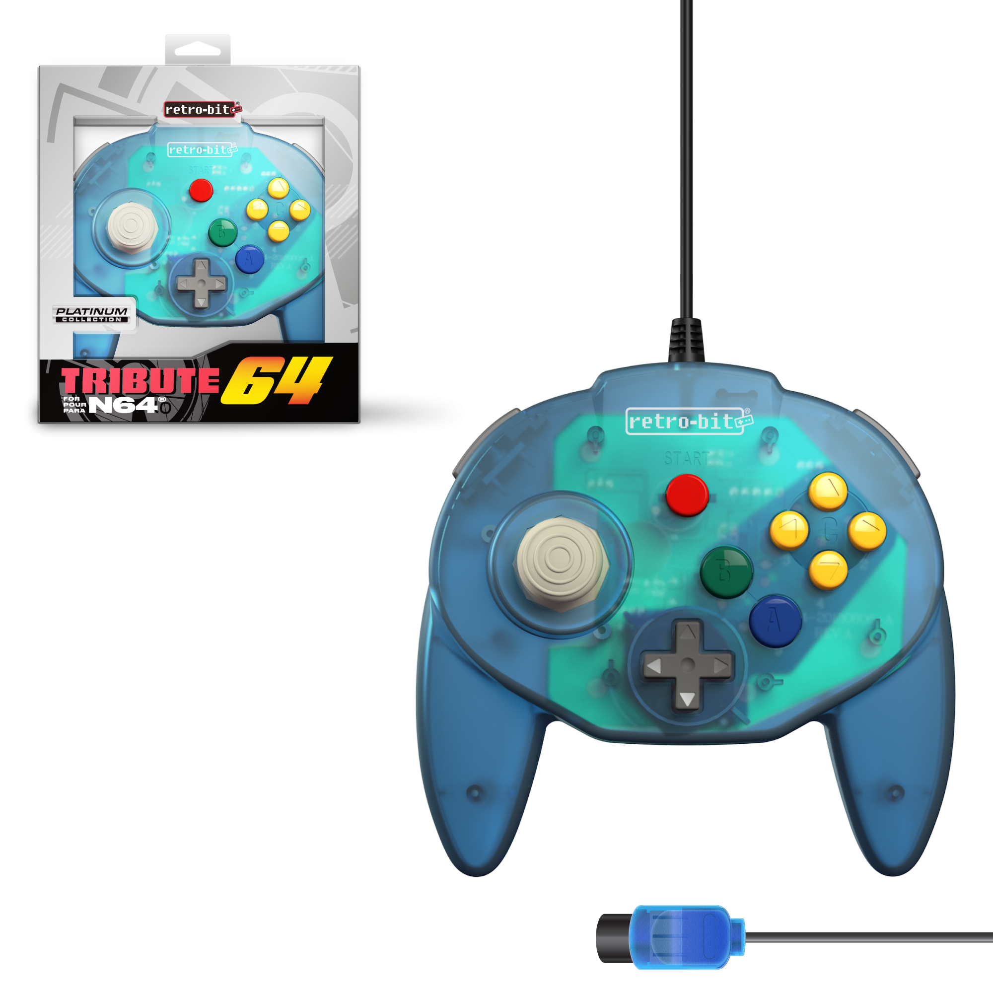 Tribute64 Forest Green - N64 Port