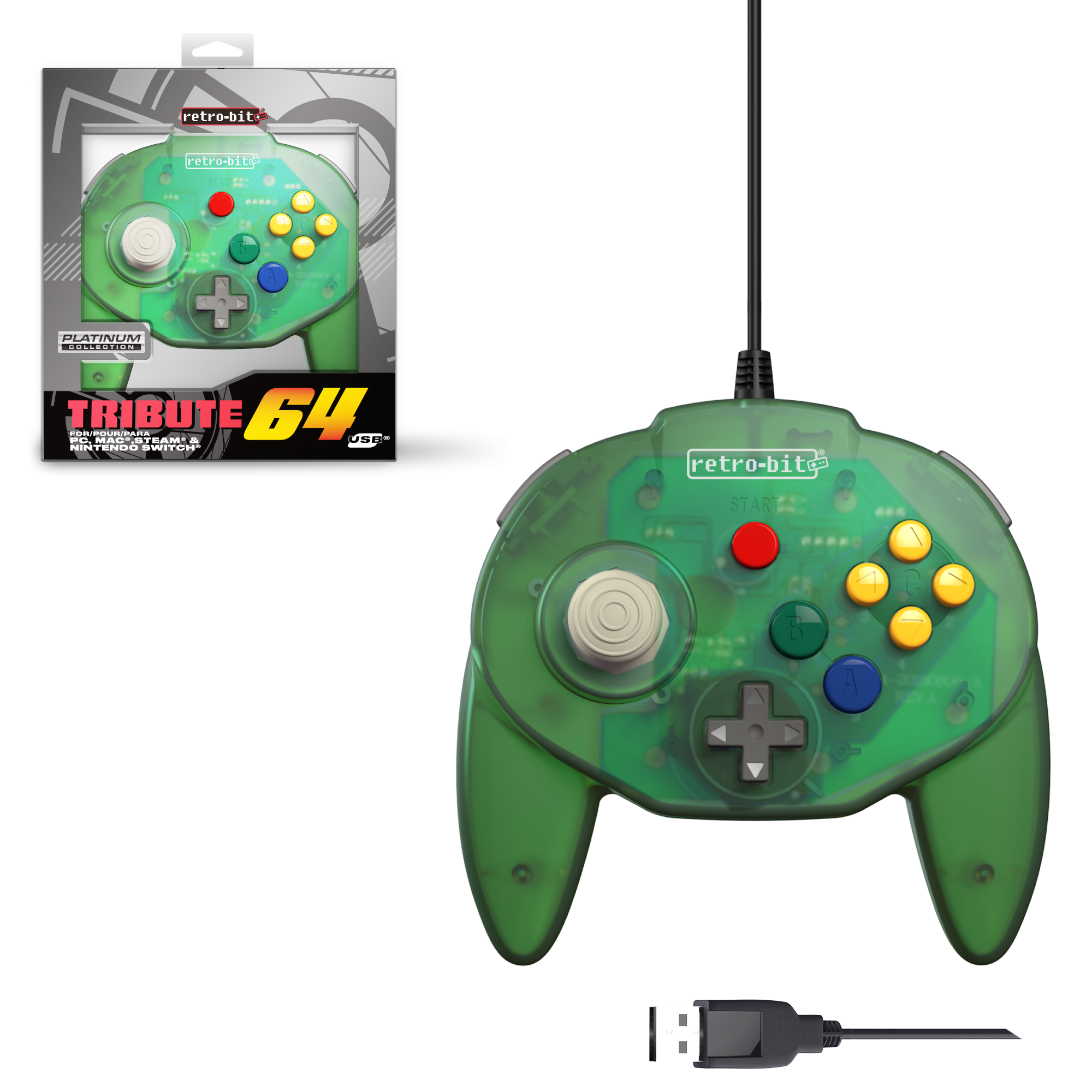 Tribute64 Forest Green - USB