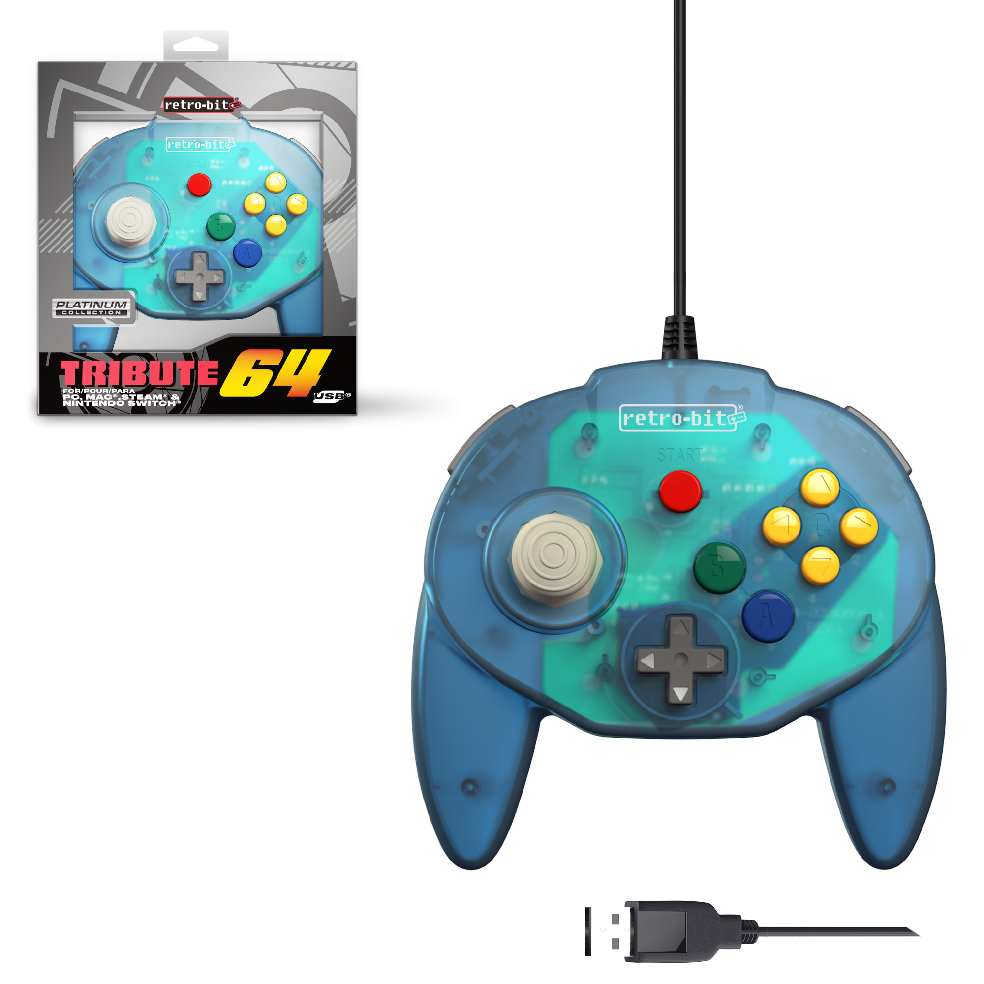 Tribute64 Ocean Blue - USB