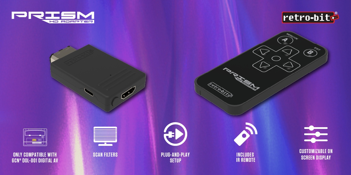 Prism HD Adapter for GameCube - Features