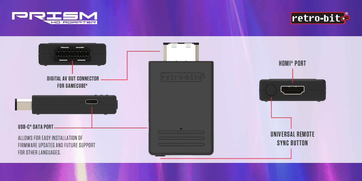 Prism HD Adapter for GameCube - Showcase