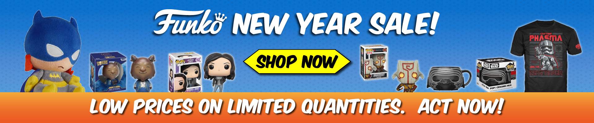 Funko, New Year, Sale