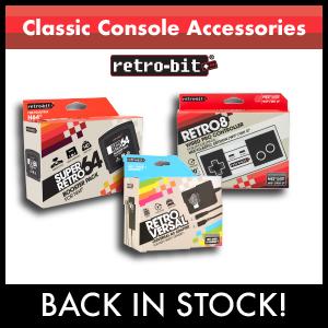 Retro-Bit Retro Accessories