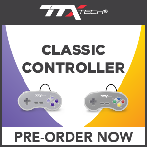 TTX SNES Controllers