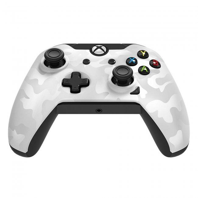 Xbox One Wired Controller White Camo