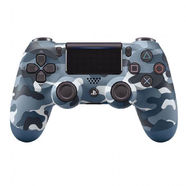 PS4 DualShock 4 Wireless Controller - Blue Camo