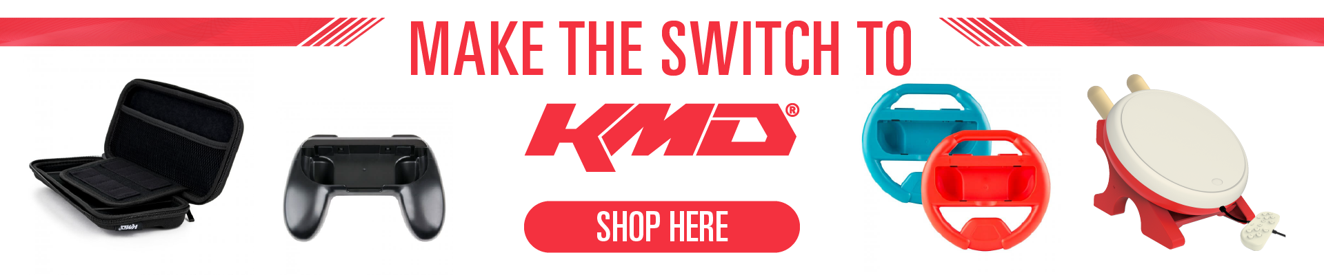 KMD, Nintendo, Switch, Accessories