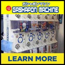 Gashapon Machines