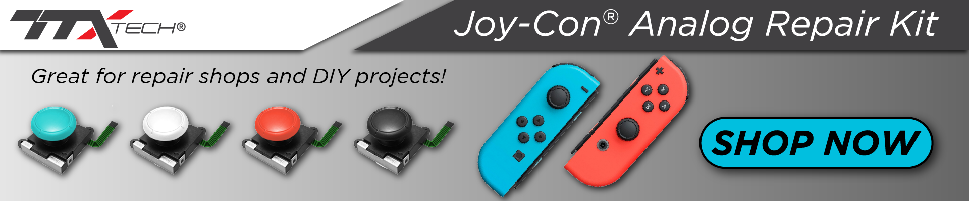 TTX Tech, Nintendo, Switch, Joy-Con, Repair, Analog, Kit