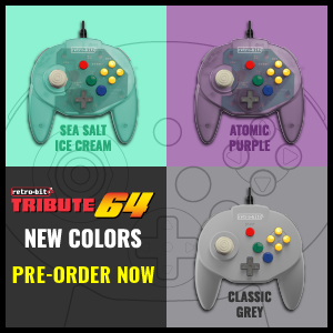 Tribute64 New Colors